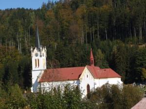 Josefův Důl kostel